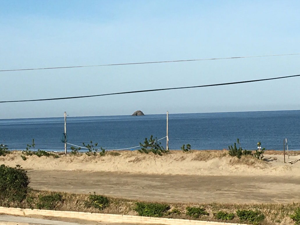 鳥取の海女さんのいつもの景色